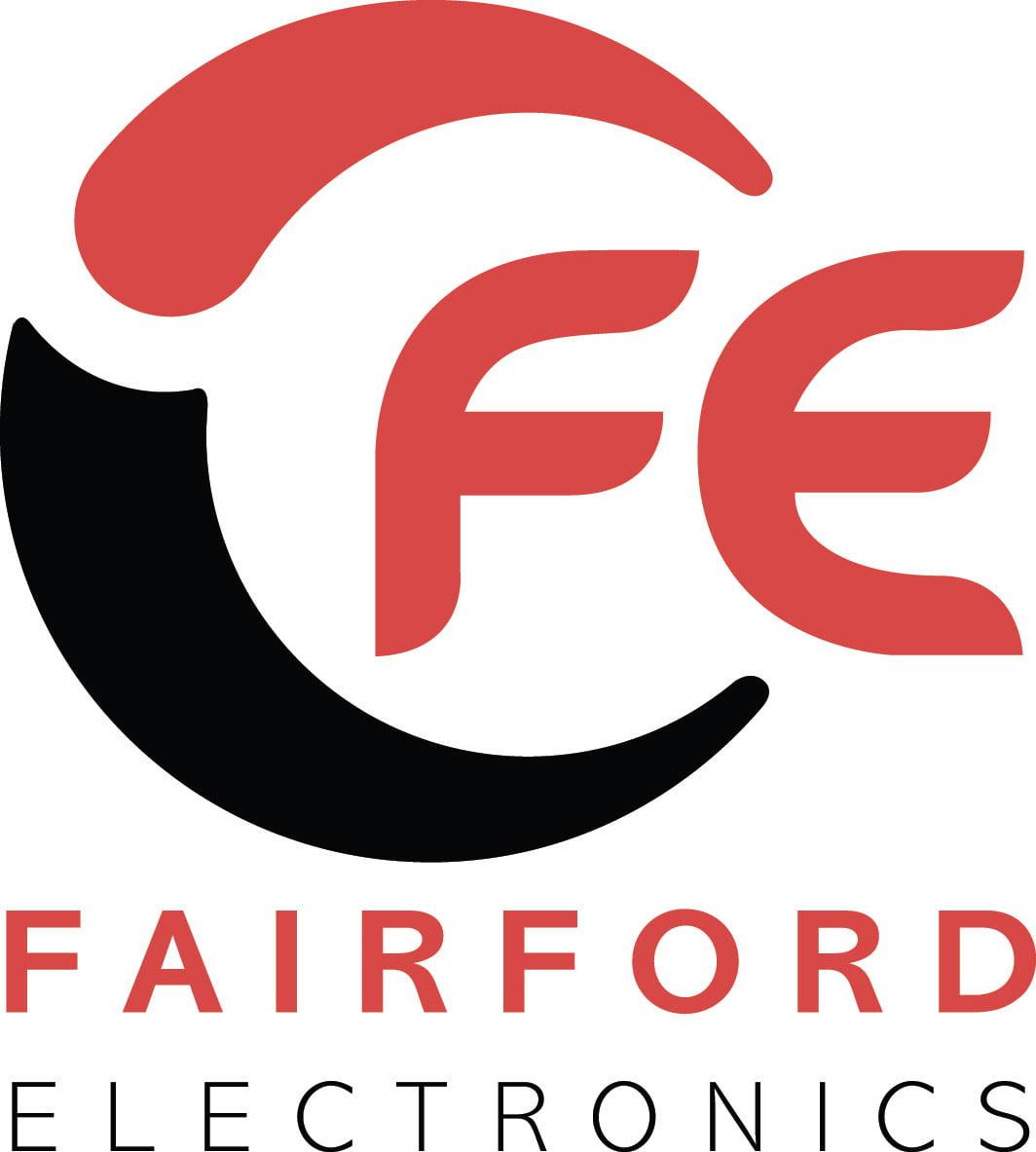 """""""Fairford Electronics"""" Fairford electronics logo, Linn electrical Contractors Ltd, Trowbridge, Wiltshire"""