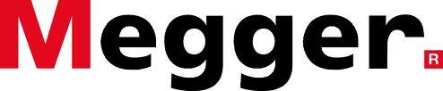 """Megger"" Megger logo, Linn electrical Contractors Ltd, Trowbridge, Wiltshire"