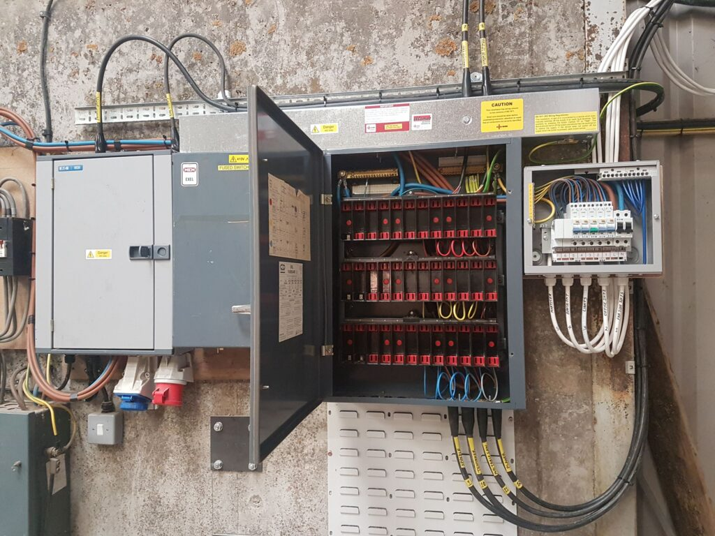 control panel, Linn electrical Contractors Ltd, Trowbridge, Wiltshire