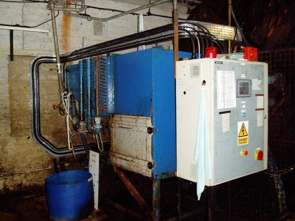 Generator with control panel, Linn electrical Contractors Ltd, Trowbridge, Wiltshire