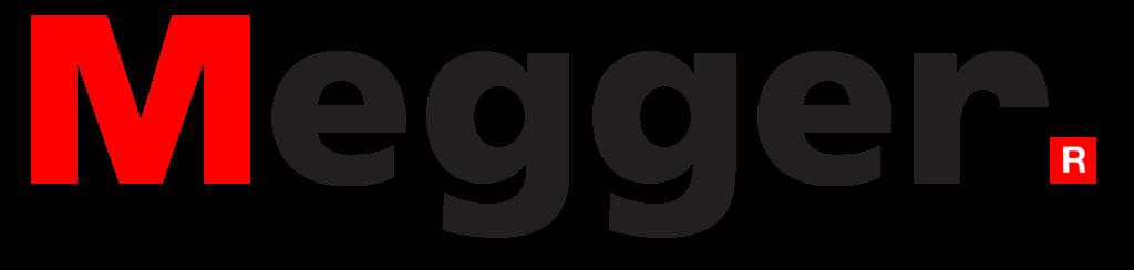 """""""Megger"""" Megger Group Limited Logo, Linn electrical Contractors Ltd, Trowbridge, Wiltshire"""